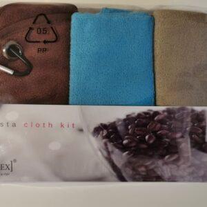Joe Frex-Set von 4 Barista Reinigungstüchern-Mikrofaser