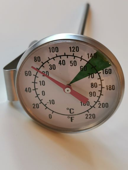 Thermometer-analog-45mm Durchmesser
