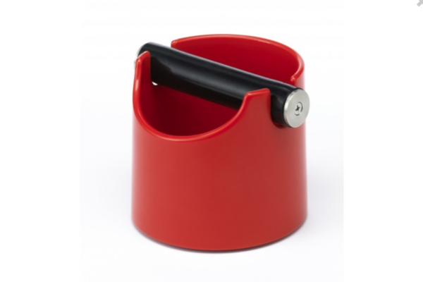 Joe Frex-Kaffeesatzbehälter-knock box-rot-Kunststoff