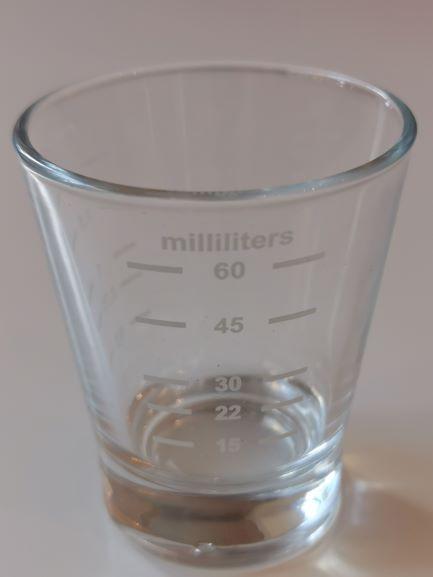 Shotglas-60ml